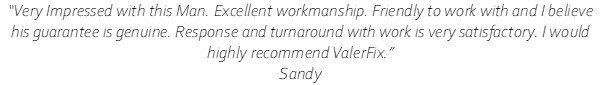 Review - Sandy